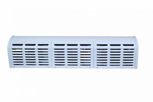 Air Curtain in 3 Speed - Aluminum Body with Powder Coated Chassis operated by Remote Control for Commercial Application