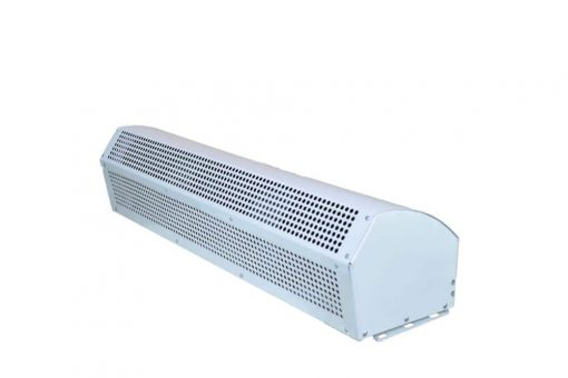 Air Curtain in Dual Speed - Plain Stainless Steel Body with Powder Coated Chassis for Commercial Application