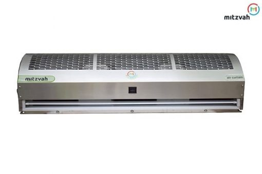 Air Curtain in Dual Speed - Slotted Stainless Steel Body with Stainless Steel (Grade 304) Chassis for Commercial Application
