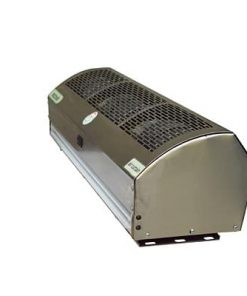 Air Curtain in Dual Speed - Slotted Stainless Steel Body with Powder Coated Chassis for Commercial Application